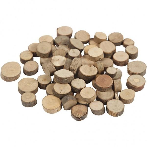 Holzscheiben klein
