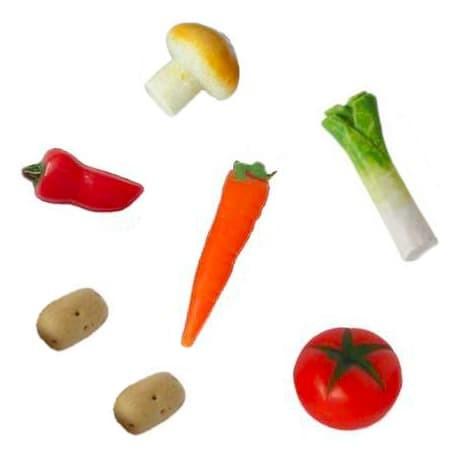 Wichtel Gemüse Set