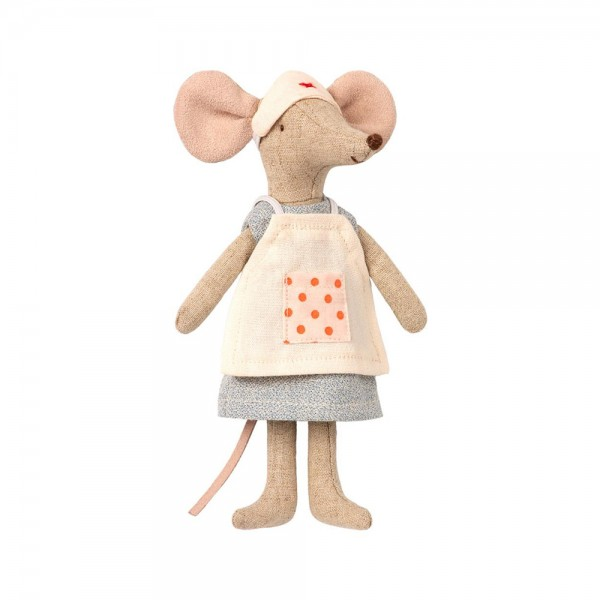 Maileg - Krankenschwester Maus