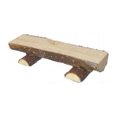 Holzblock Bank 10 cm ohne Lehne