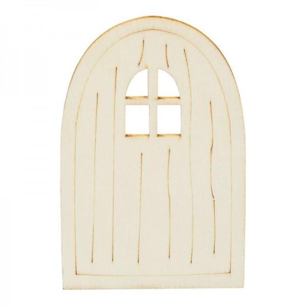 Wichteltür klein mit Fenster