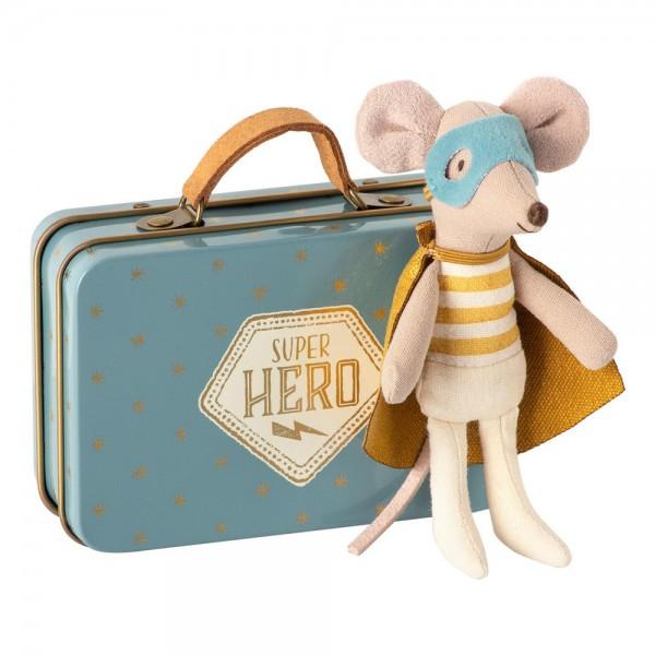 Maileg - Maus Superheld im Koffer