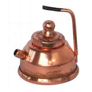 Kupfer Teekanne mit Griff
