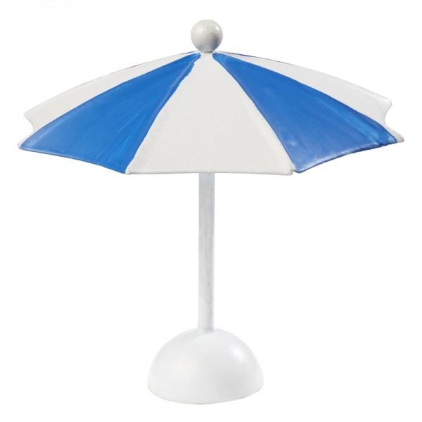 Sonnenschirm groß blau