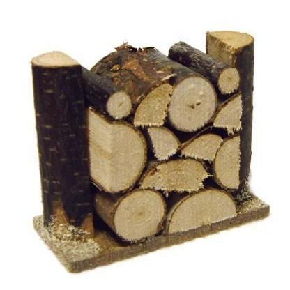 Holzstapel klein