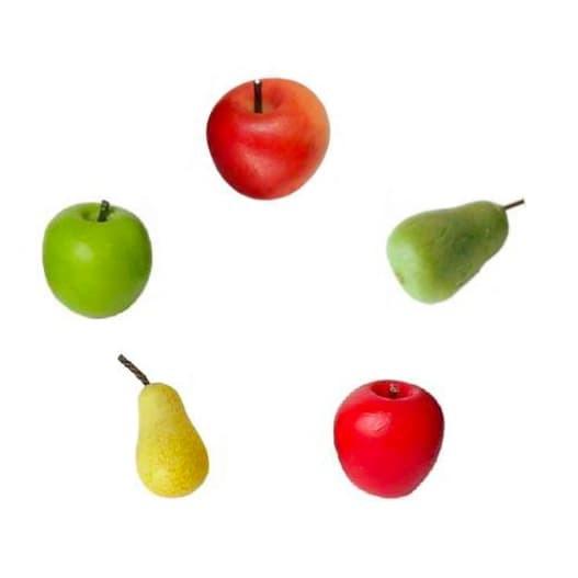 Wichtel Set Äpfel und Birnen