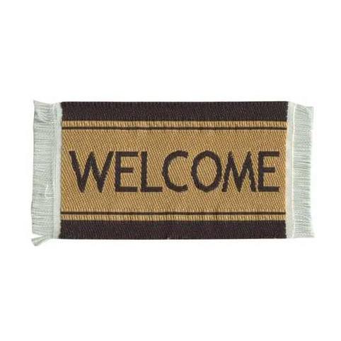 Fussmatte Welcome